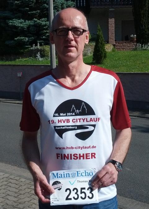 Thb nach dem Citylauf Aschaffenburg 2014